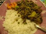 Peas, brocolli and green bean shak