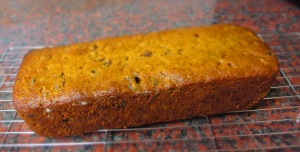 Mixed fruit tea loaf whole